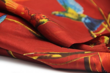 Foulard en soie Artisanat d'Asie