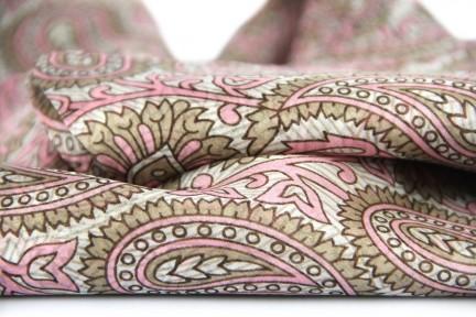 Châle en soie femme