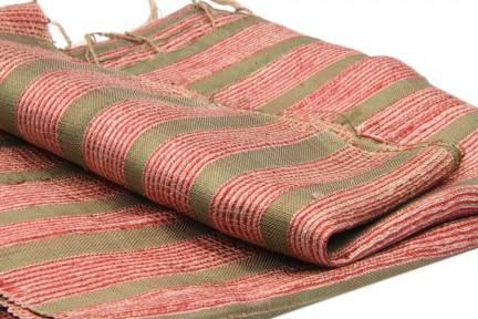 Écharpe soie bordeaux de luxe pour femme et homme
