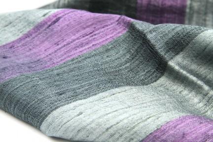 Foulard étole écharpe en soie sauvage