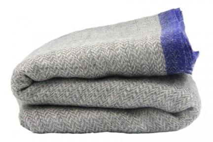 Echarpe laine épaisse homme
