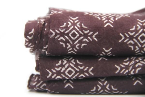 Baudelaire cotton scarf