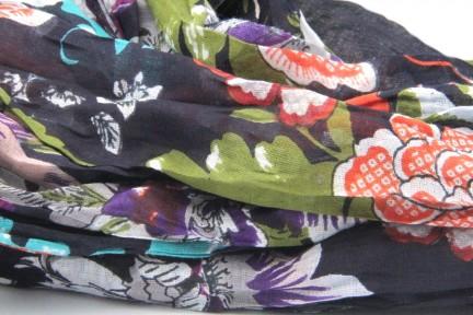 Echarpe foulard 100% coton
