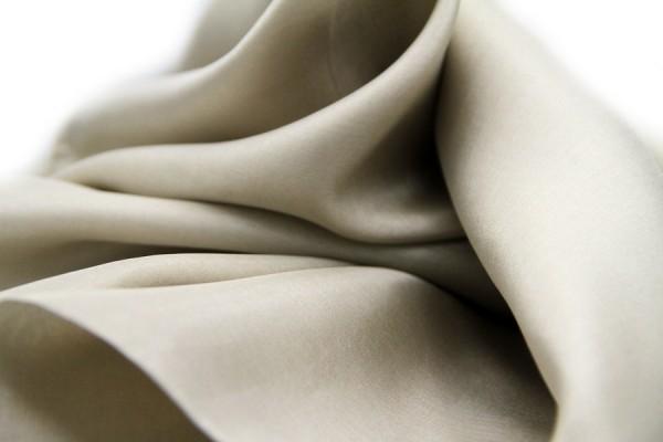 Silk stole Grège