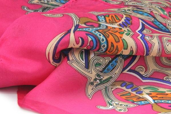 Foulard en soie Chao Praya
