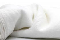 Écharpe blanche lin femme et homme