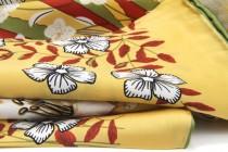 Foulard soie japonais à motifs