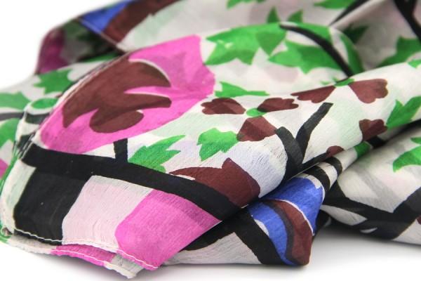 New Delhi Silk Scarf