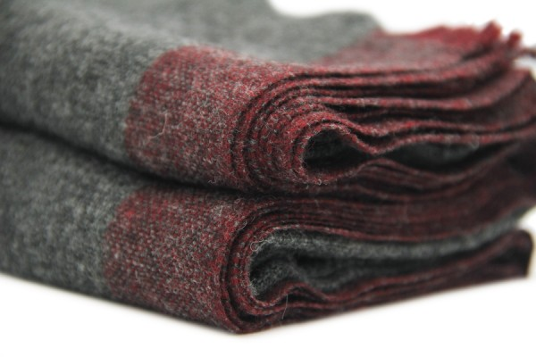 Echarpe en laine Bhoutan