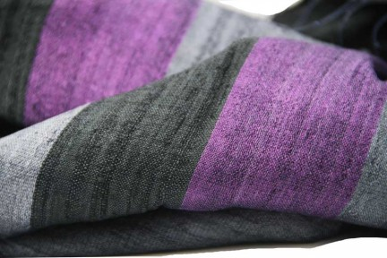 Foulard étole écharpe soie sauvage