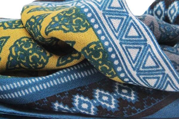 Châle en laine Ladakh