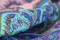 Foulard en soie motifs asie
