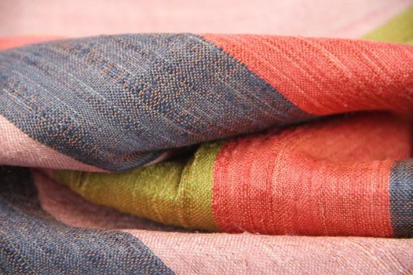 Foulard en soie Battambang