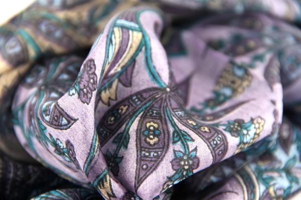 Foulard en soie Bhoutan