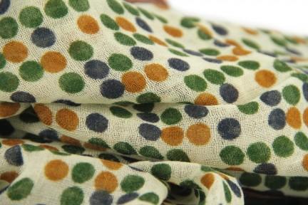 Écharpe homme laine multicolore