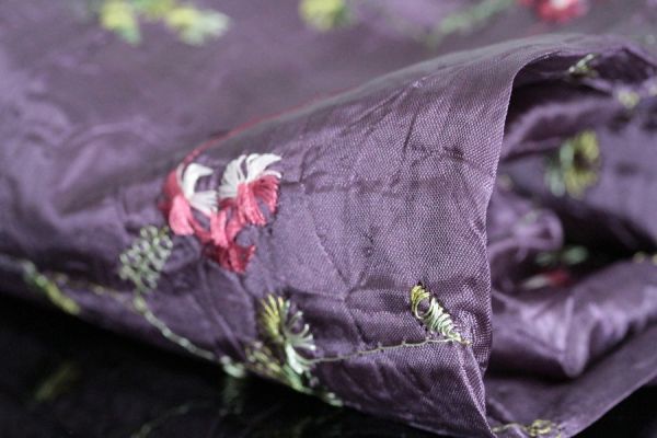 Foulard violet Prune