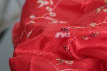 Foulard rouge homme femme pas cher