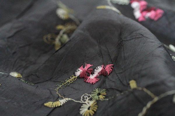 Foulard noir Encre
