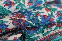 Foulard artisanal en soie