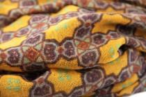 Echarpe en laine d'Inde
