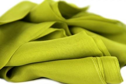 Etole en soie vert anis