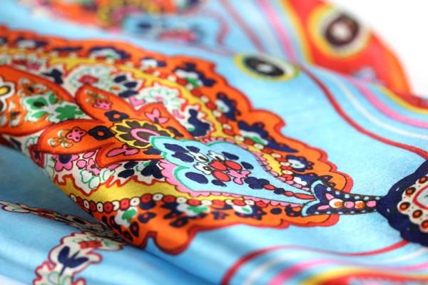 Carré soie Haute Couture