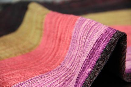 Foulard indien d'Inde - Foulard en soie sauvage