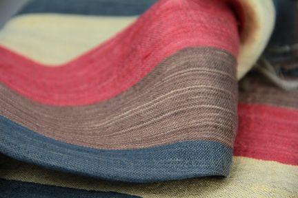 Foulard en soie fait main