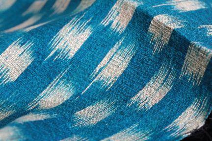 Châle en soie sauvage