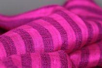Etole soie rose femme