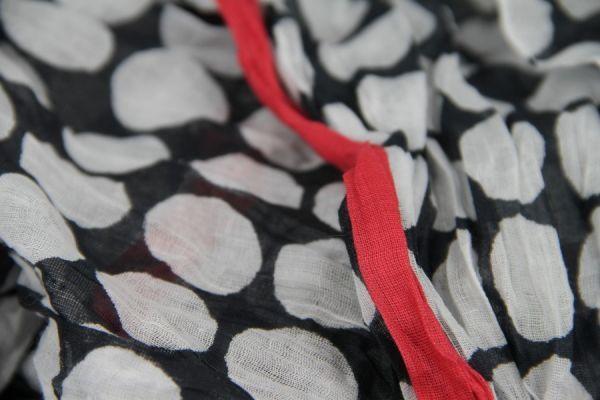 Chèche en coton Vintage chic
