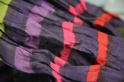 Chèche foulard froissé