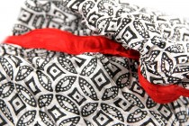 Chèche, foulard rouge pas cher