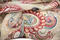Grand foulard femme soie