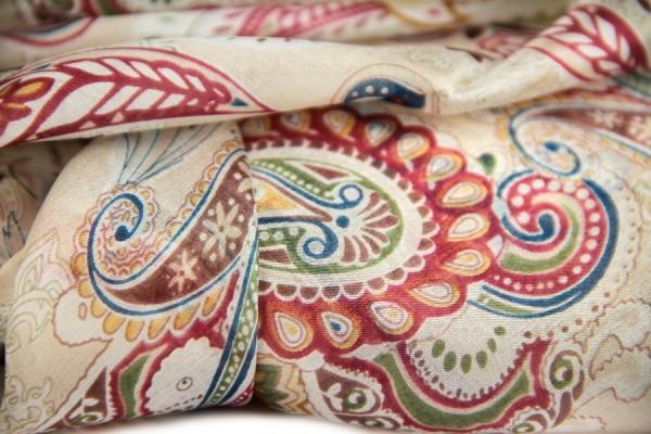 Foulard en soie Mandalay