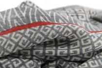 Echarpe en laine artisanale