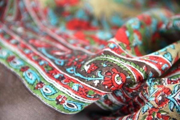 Foulard en soie Bengale