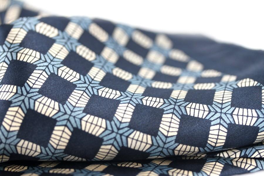 54f954292ffd foulard en soie homme pas cher,Touche Finale Foulard Ascot 脿 nouer en soie  noir 脿 motifs fleurs