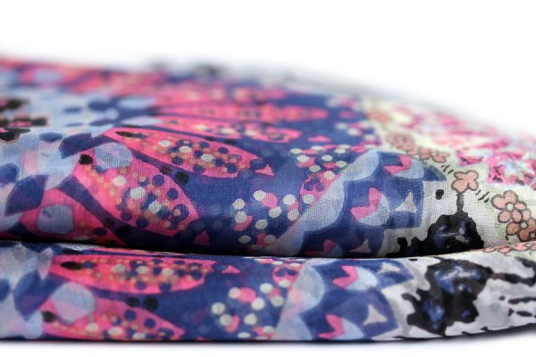 Foulard en soie Indochine