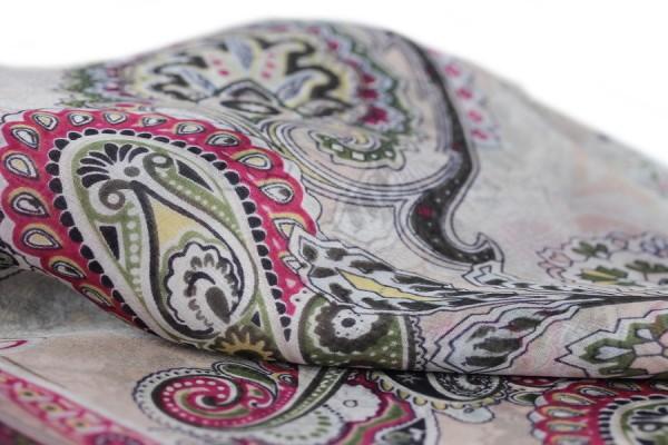 Kashmir silk scarf