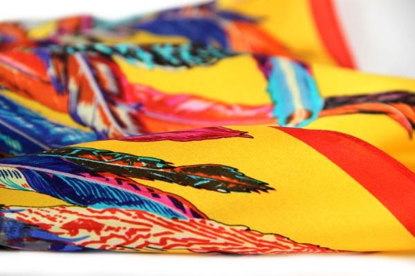 Carré en soie du Bengal