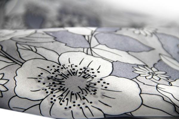 Carré en soie Fleur de cerisier