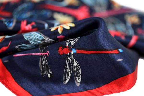 Carré en soie Hanoï