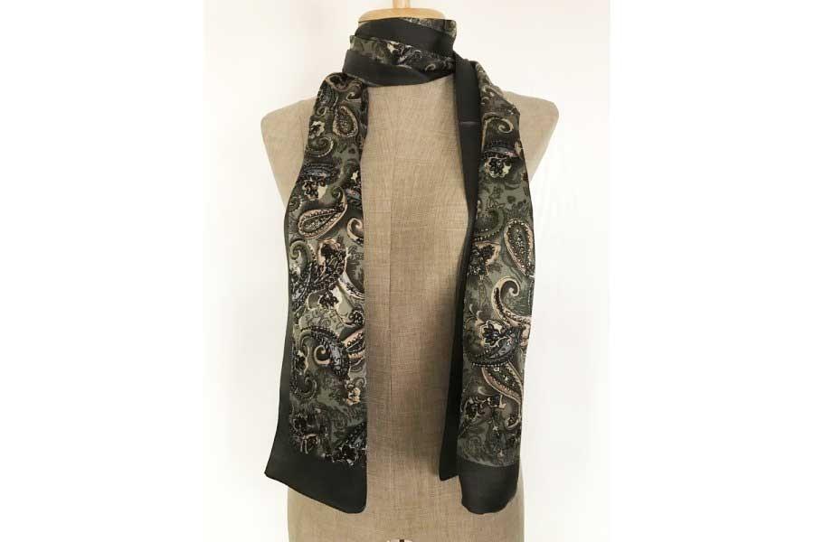 Acheter un foulard en soie homme motif cachemire indien 311e17a3d64