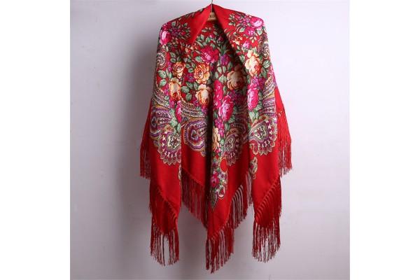 Mayakovsky wool and cotton shawl
