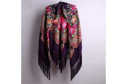 Châle de mariage bohème pour l'automne hiver en tricot