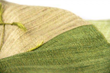Foulard motifs indiens en soie