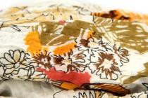 Grande Écharpe rayée en coton homme