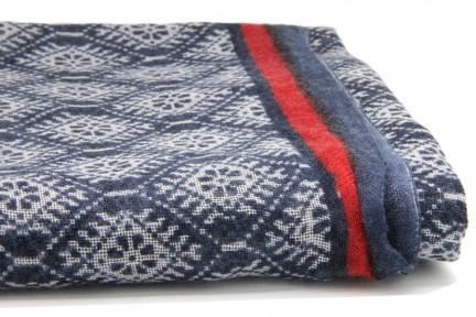 Foulard et écharpe en laine d'Inde et du Népal