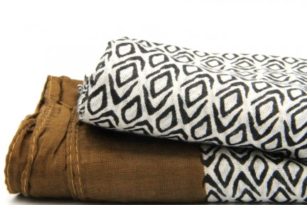 Grosse écharpe en coton pas cher